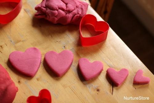 valentine maths play sizes