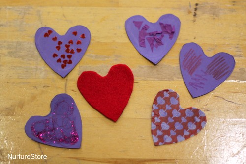 texture hearts sensory tub ingredients