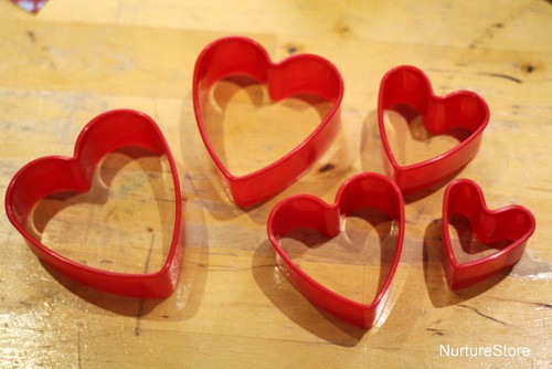 heart cookies cutters