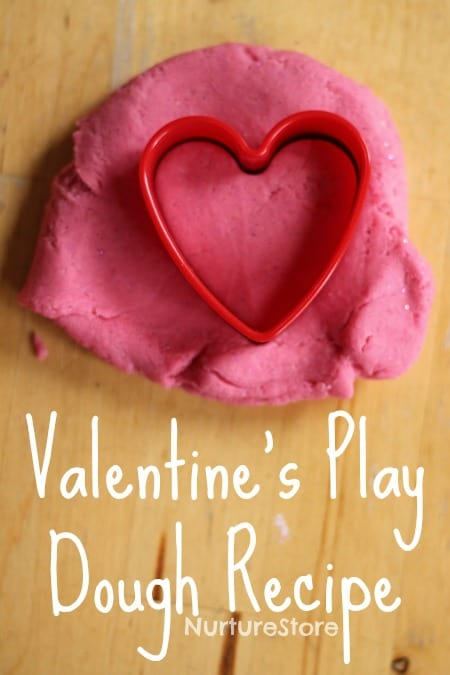 valentine play dough recipe no cook