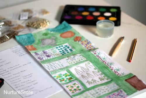 planning a garden allotment