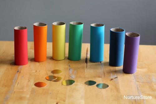 rainbow math activitites