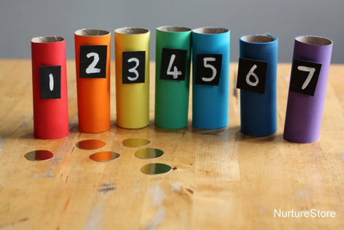 rainbow counting game