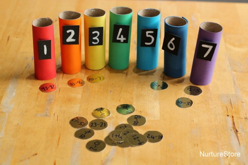 rainbow math games