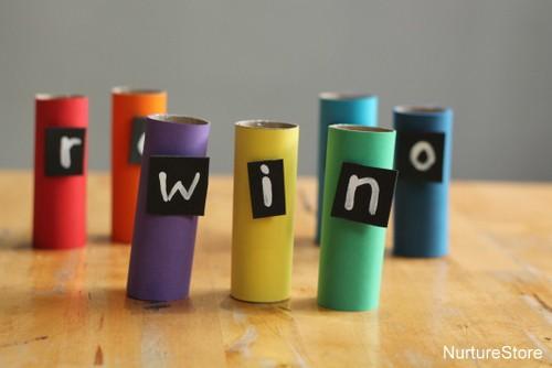rainbow word games
