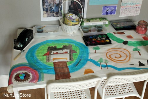 DIY playmat