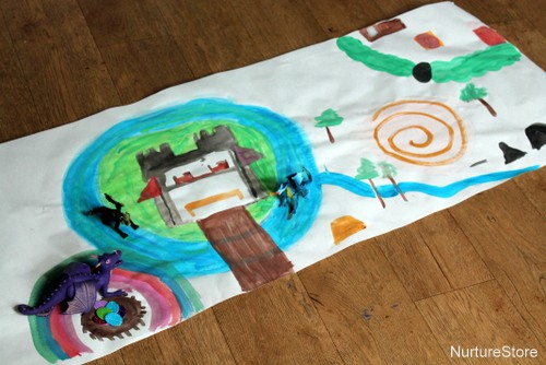 homemade playmat