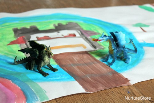 dragon play mat