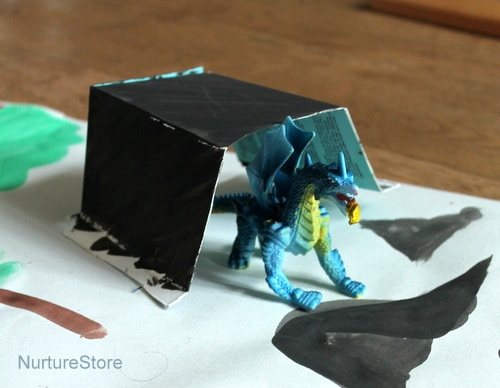 playmat dragon small world