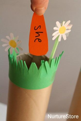 spring word games sorting spelling
