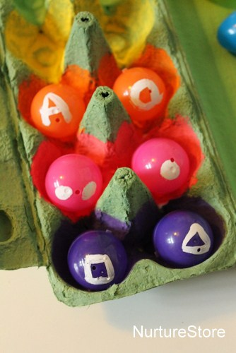 Easter egg games activities