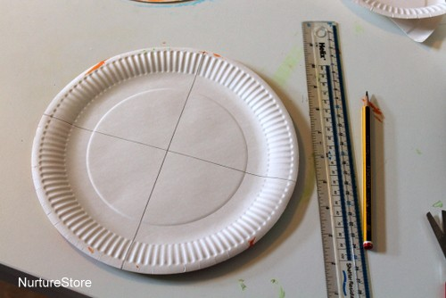 paper plate gift bag craft