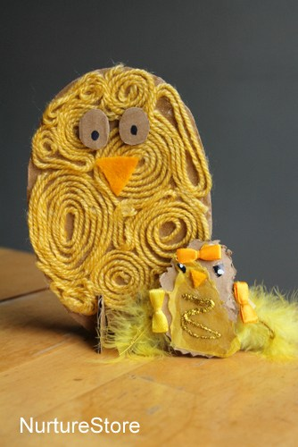 Easy easter chick crafts