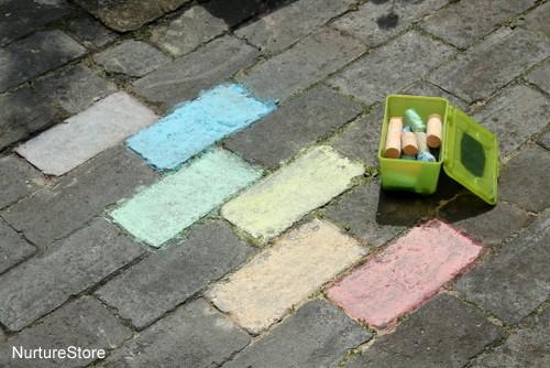 backyard color hunt