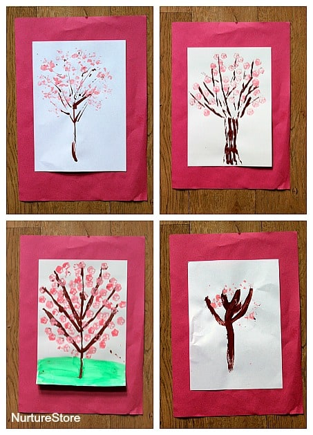 spring blossom tree craft
