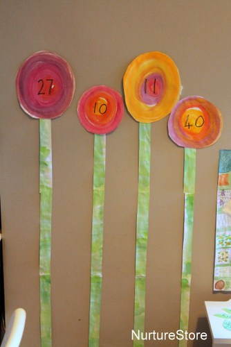 flower stalk math games