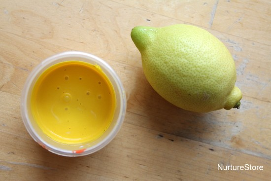 diy paint recipe lemon scented