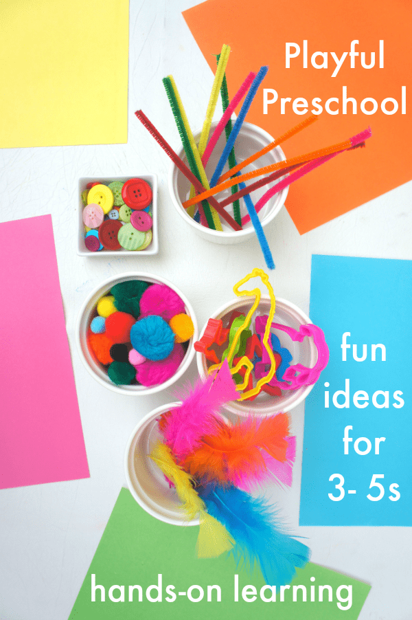 playful preschool activities