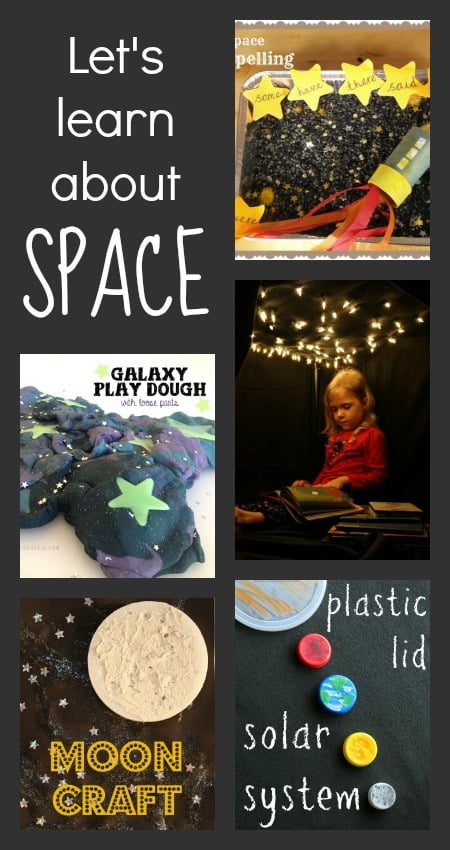 space theme activities
