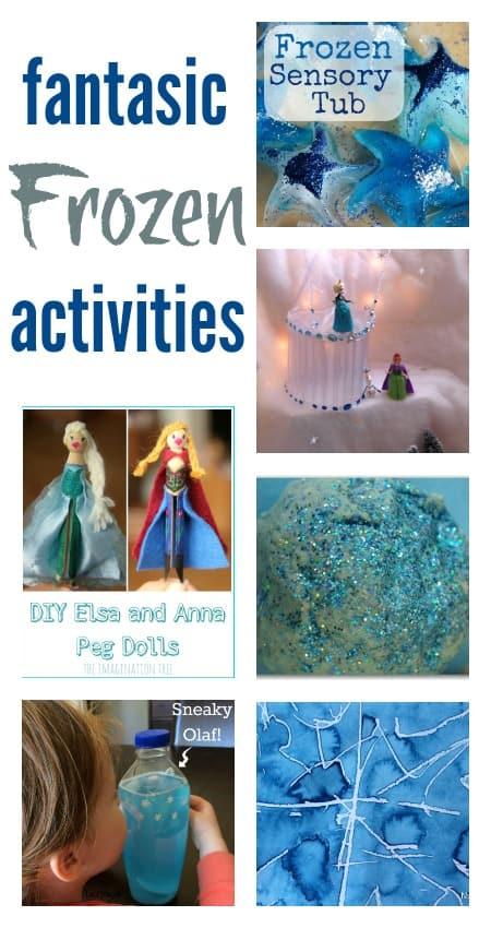 Disney Frozen activities for kids