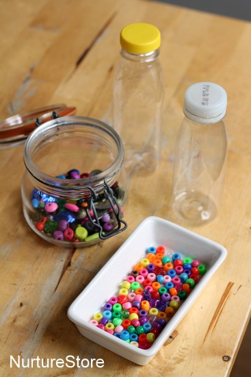 diy discovery bottles