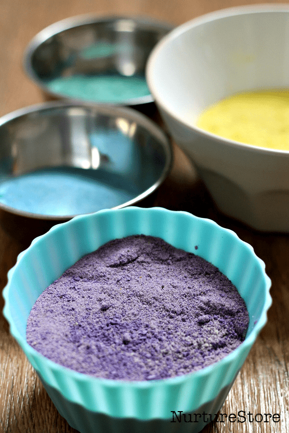 colored sand play ideas