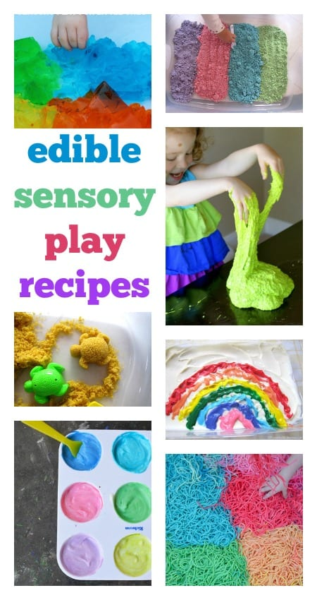 Edible Sensory Play And Frozen Fractals Play Planner