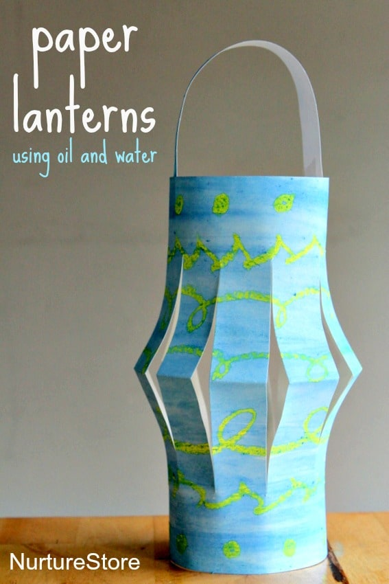 Paper lanterns ramadan craft nurturestore for Eid decorations to make at home