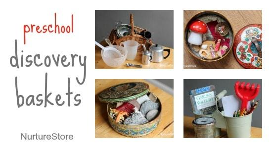 preschool discovery baskets