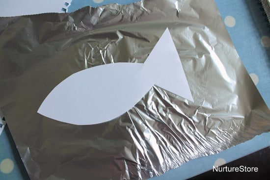 foil fish craft