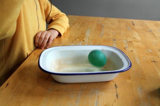 bouncing egg experiement
