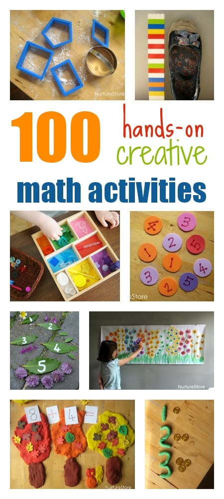 Hands On Creative Math Activities For Children Nurturestore