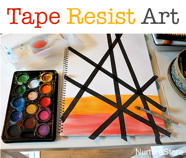 tape resist July 25th fb