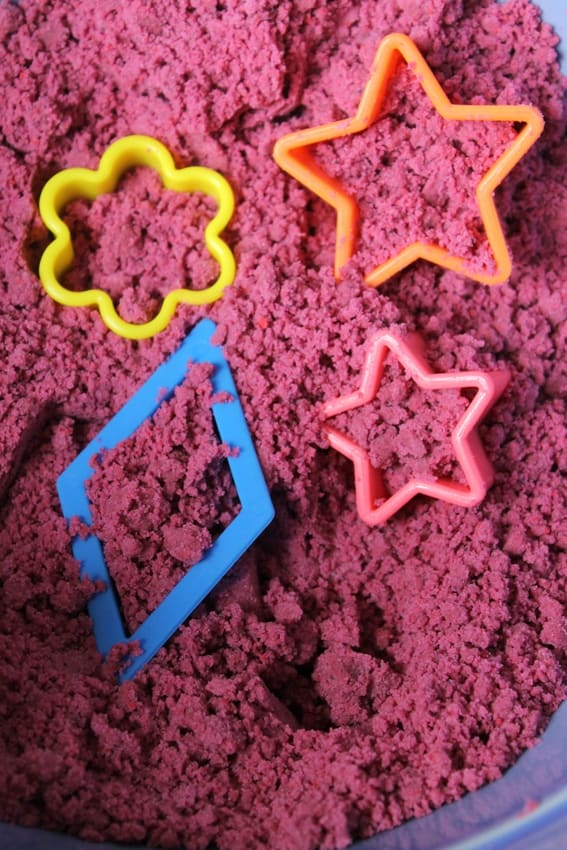 cookie cutter shape hunt cloud dough