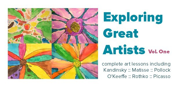 Complete art lesson plans exploring great artists