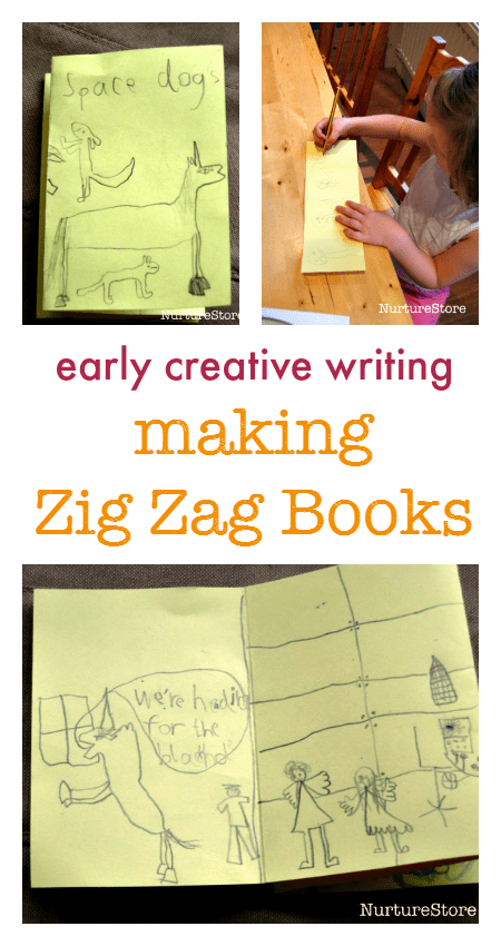 simple creative writing zigzag books