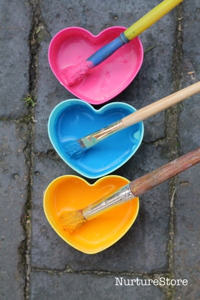 homemade chalk paint colors