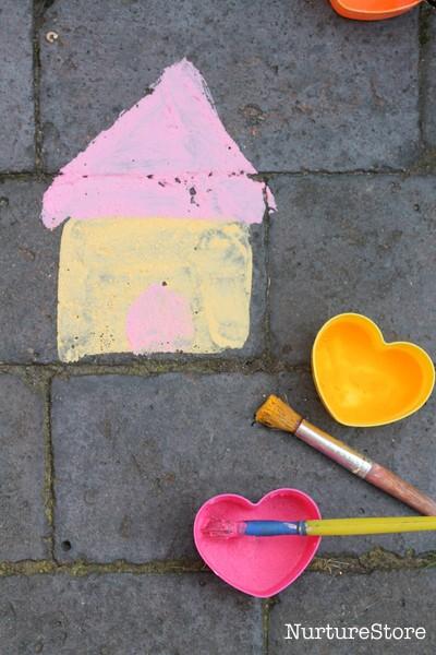 chalk paint pictures