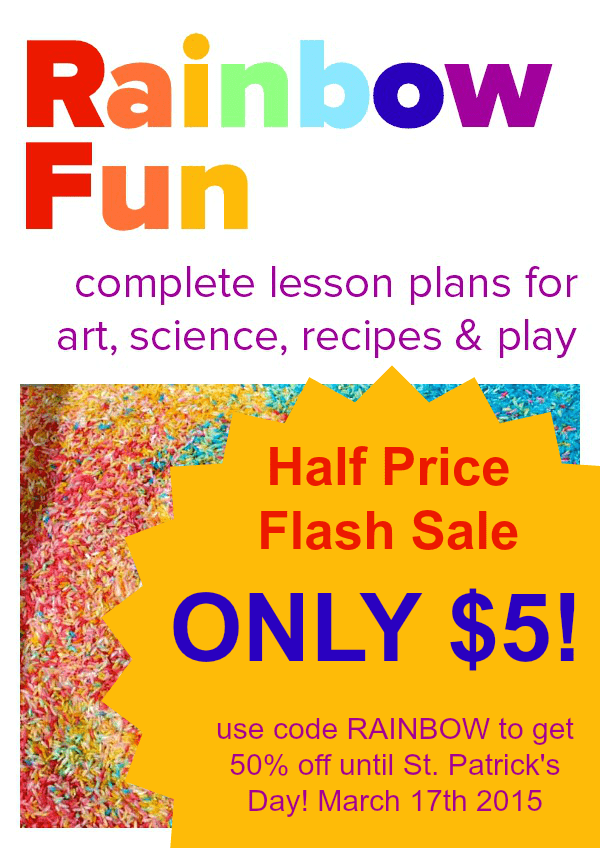 Get Rainbow Fun for just $5! Use code RAINBOW, until March 17th 2015