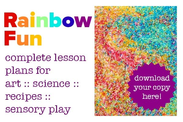 rainbow fun activities