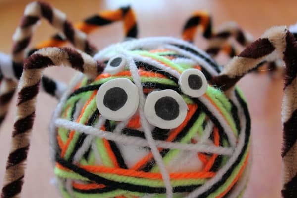 simple spider craft for kids