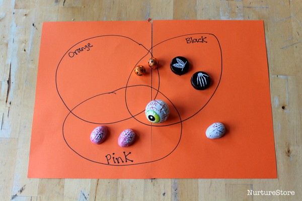 Venn diagram activity for Halloween