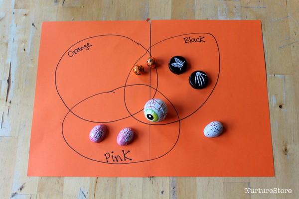 Venn diagram activity for Halloween