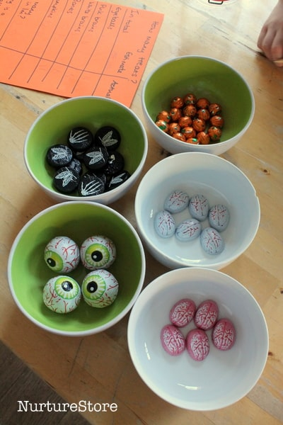 halloween treat games