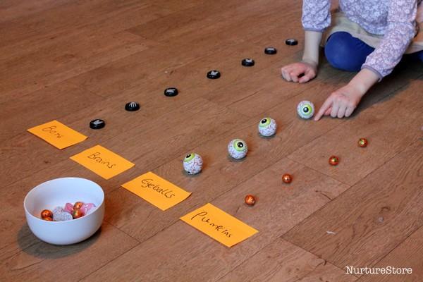 Halloween graph activity math