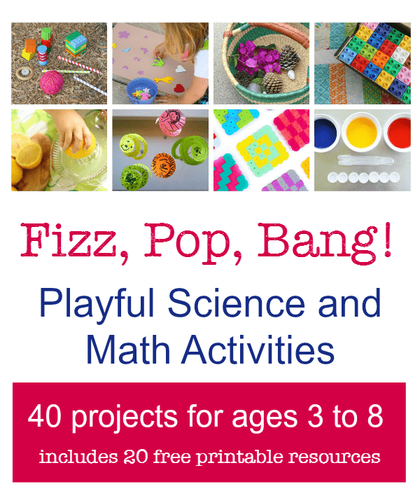 40 hands-on science and creative math projects for school or home.