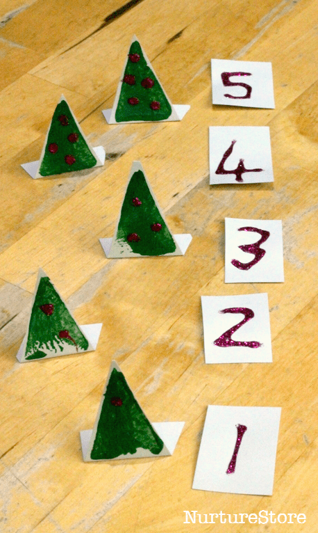 Christmas counting activity preschool 1