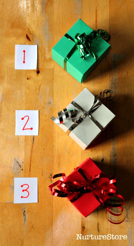 Christmas listening games for preschool