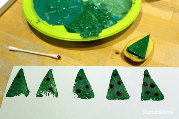 Christmas tree counting game