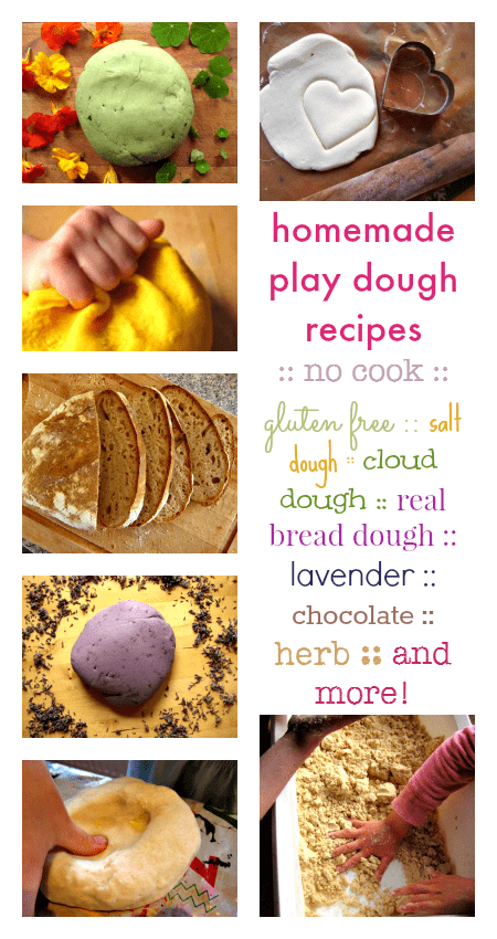 homemade play dough recipes